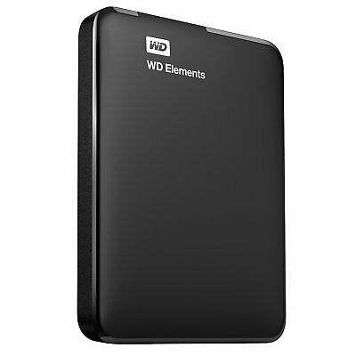WD 1TB Elements Portable External Hard Drive - USB 3.0, for PC, Xbox One and Pla