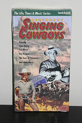 Legendary Singing Cowboys (The Life, Time and Music Book/CD Series)  Paperback