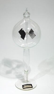 Vintage Solar Powered Glass Radiometer - Leybold Company label.