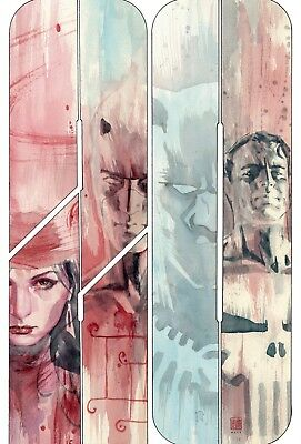 jaiz Marvel Knights 20th #1 David Mack 1:50 Variant - NOT A VIRGIN Cover
