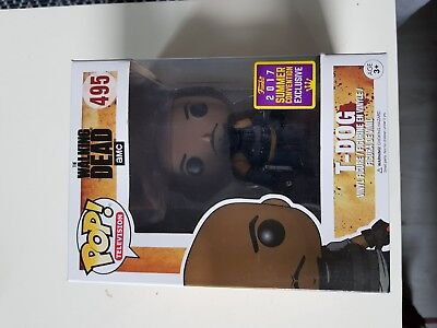 Funko POP! the Walking Dead 495 T-DOG SDCC 2017 Summer Convention Exclusive