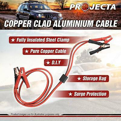 Projecta DIY Booster Cables - CCA Cable 400Amp 2.5M Premium Quality