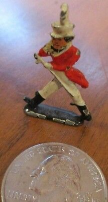 "JOHNNIE WALKER RED  mini metal figure, made in England 1.25"" tall"