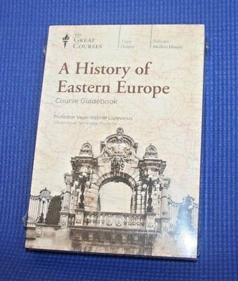 The Great Courses ~ A History of Eastern Europe ~ DVD & Guidebook ~ Brand New!
