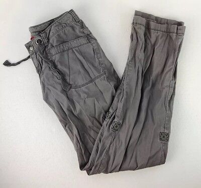 ee80f37e224 WOMENS THE NORTH FACE Size 2 Gray Horizon Tempest Roll Up Outdoor ...
