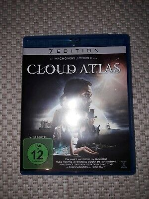 Cloud Atlas [Blu-ray] von Wachowski, Andy, Twyker, Tom DVD Film Kino sehr gut