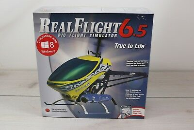 Real Flight RC 6.5 Flight Simulator True To Life New In Box Airplane Helicopter