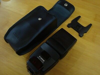 Canon Speedlite 420EX Flash for Canon EOS DSLR Case and Flash Support