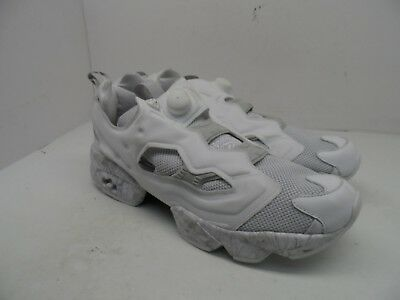Reebok Men s Instapump Fury ACHM Athletic Shoe White Light Solid Grey Size  12M ca953be1a