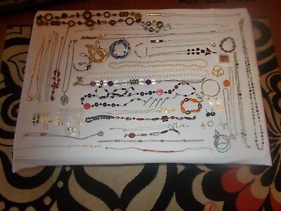 Vintage & Modern Job Lot Of Costume Jewellery House Clearance 95% Good L@@k