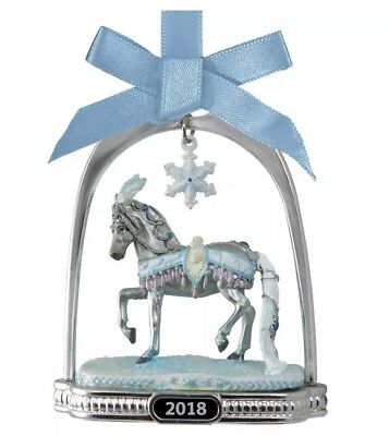 BREYER 2018 Christmas Horse CELESTINE STIRRUP ORNAMENT New In Box