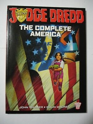 JUDGE DREDD THE COMPLETE AMERICA    1st Edition April  2003
