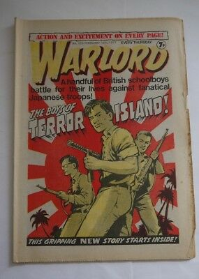 WARLORD comic No 125 February 12th 1977