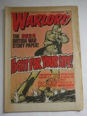 WARLORD comic No 128 March 5th 1977