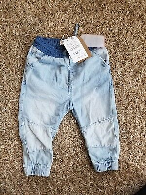 Nwt Zara Baby Boy Collection, Jean Pants Size 12/18 Month