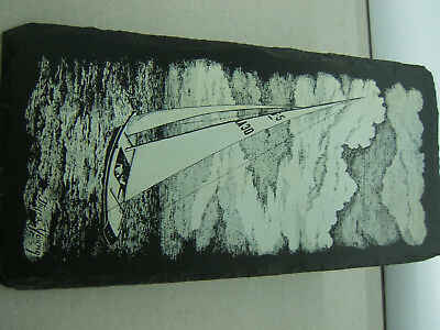 500 Million Year Old Slate Sailboat Print Frank Weng/ Thyra Young