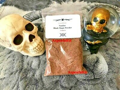 Voodoo Black Magic Powder~ Made By Witches Banishing/ Hotfoot ~Large 3 Ounces