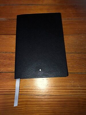 montblanc leather notebook