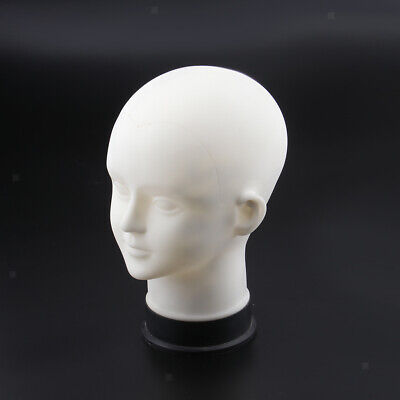 White Male Mannequin Manikin Head Model Caps Hats Toupee Display Stand Rack