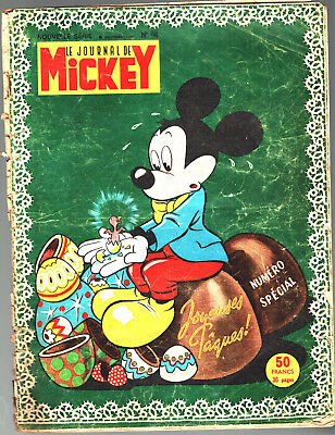 LE JOURNAL DE MICKEY n°98 ¤ 03/1954 ¤ NUMERO SPECIAL JOYEUSES PAQUES