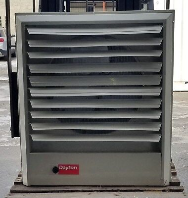 Dayton Unit Heater 208 Volt, 102,300 BtuH, 2100/1800 cfm, Model 2YU79 - Nice!!!