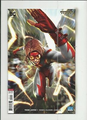 Young Justice #1 (2019) Derrick Chew Variant Cover (VF/NM) condition