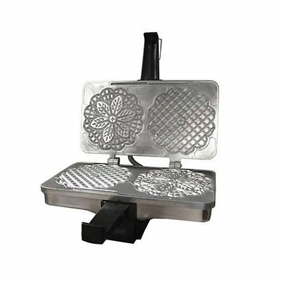 CucinaPro Polished Kitchen Pizzelle or Cannolo Baker Italian Waffle Cookie Maker