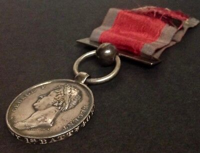 Fighting Fortieth Waterloo Medal Lt James Anthony, 1st/40th (2nd Somerset) Foot