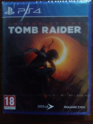 PS4 Shadow of The Tomb Raider neuf sous blister