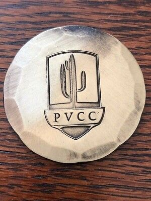 Seamus Hand Forged Bronze Ball Marker Pvcc Paradise Valley Country Club