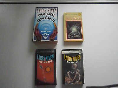 Multiple Known Space books by Larry Niven