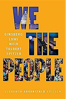 We The People 11th Essential Edition Tolbert Ginsberg (PDF) E-b00k