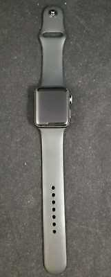 Apple Watch Series 3 42mm SPACE GRAY (GPS and Cellular)- BAD ICL0UD FOR PARTS
