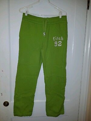 Abercrombie & Fitch Kids XL Green Sweatpants