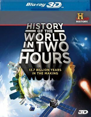 History of the World in Two Hours-BLU RAY 3D Movie New (VG-AAAE261850 / VG-007)