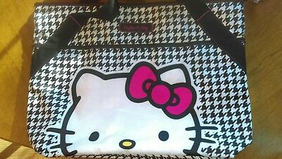 Hello Kitty Large Houndstooth Tote