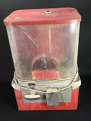 Vintage Electric Lighted Coin Op Gum Gumball Candy Vending Machine