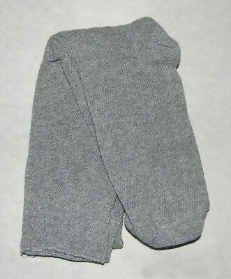 "100% Cotton Long Over the Knee Socks - (Gray) - Colonial/Re-Enacting - ""NEW"""