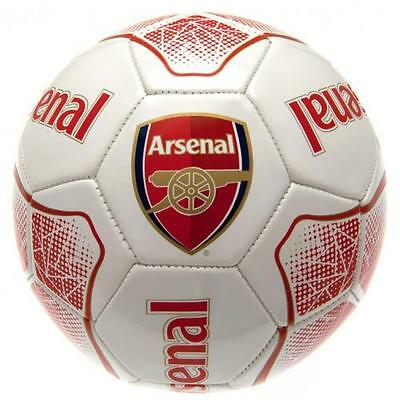 Arsenal FC Official Crested Football Size 5 Soccer Ball Full Size 32 Panel Gift