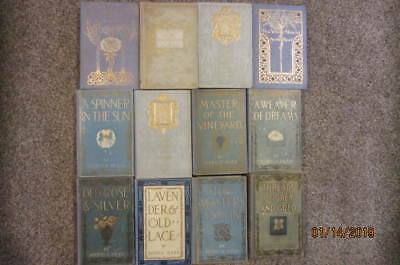 Lot of 12 Antique Myrtle Reed Books, Lavender and Old Lace, Etc