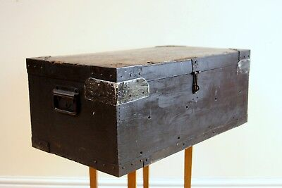 Handsome Vintage Military Serviceman's Trunk/Chest