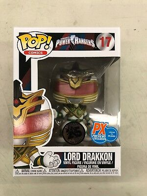 Lord Drakkon Power Rangers MMPR PX Previews Exclusive IPop 17 Rare Funko Pop