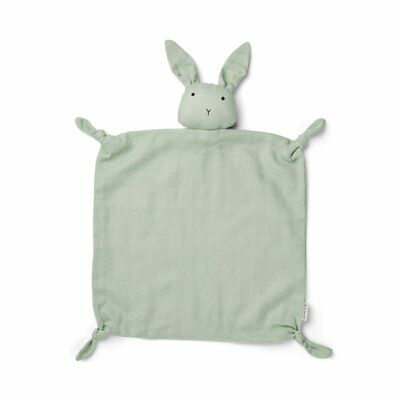 Baby Comforter - Dusty Mint Rabbit baby kids newborn wrap muslin squares