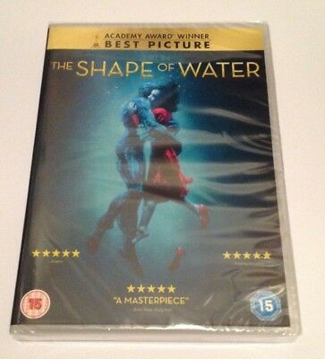 The Shape Of Water Dvd Sealed