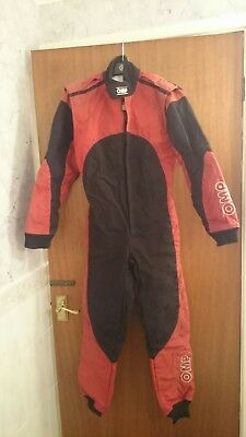 OMP Kart Suit - Size 40 Level 2 MSA UK KARTING