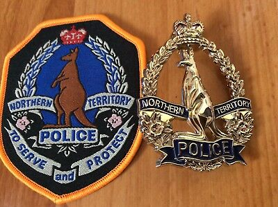 Replica/Social Northern Territory Police Badge & Patch