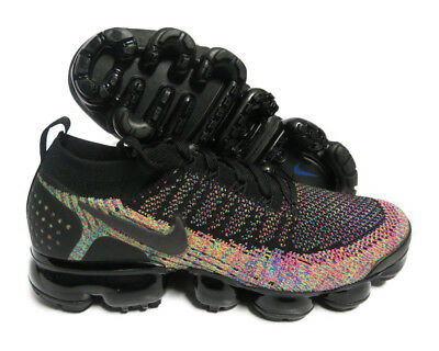 942842-017 Nike Air Vapormax Flyknit 2 (Black / Racer Pink) Men Sneakers