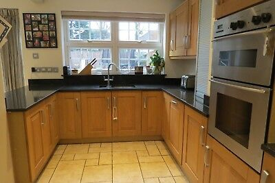 Crown Imperial Used Kitchen, Solid Wood Shaker Style, Granite W/tops, Well Made