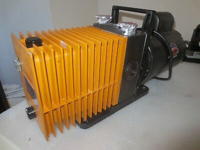 Alcatel Vacuum Pump Model 2008A w 1/2 HP Franklin Electric Motor
