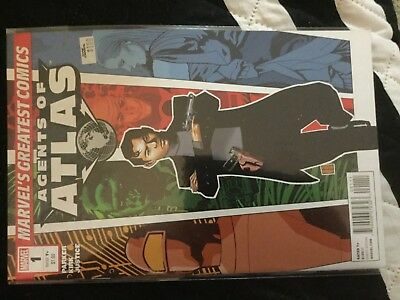 Agents Of Atlas Marvel's Greatest Comics Edition #1 Marvel Comics